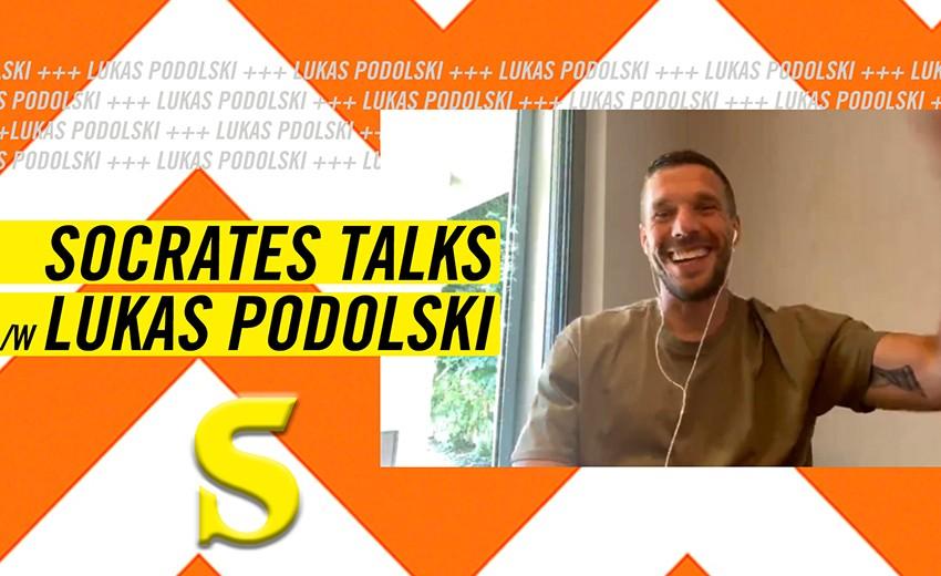 """Lukas Podolski: """"Nicht als Arschloch weggehen"""""""