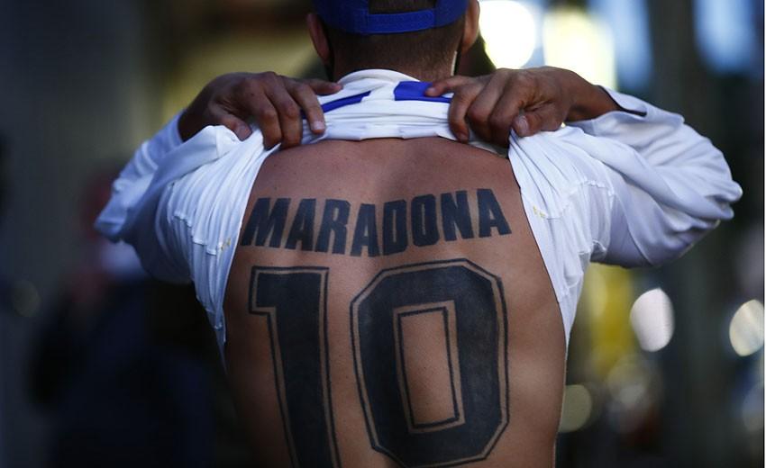 Maradona-Zeitraffer: Sechs Jahrzehnte Gott